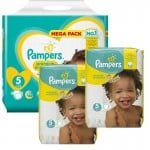 Maxi Giga Pack 315 couches Pampers New Baby Premium Protection