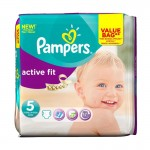 Pack de 47 Couches Pampers Active Fit sur auchan