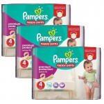 Giga Pack 128 Couches Pampers d'Active Fit sur auchan