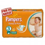 82 Couches Pampers Sleep & Play sur auchan