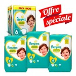 168 Couches Pampers New Baby - Premium Protection taille 6
