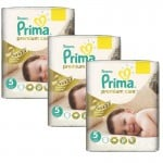 378 Couches Pampers Premium Care - Prima taille 5