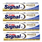 Lot 4 Dentifrices Signal Integral 8 Complet sur auchan