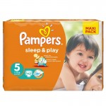 Pack 42 Couches de Pampers Sleep & Play sur auchan