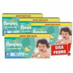 Maxi Pack de 576 Couches Pampers Active Baby Dry sur auchan
