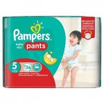 Pack de 36 Couches Pampers Baby Dry Pants sur auchan