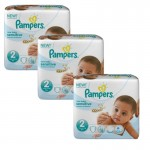 180 Couches Pampers New Baby Sensitive sur auchan