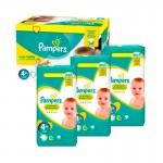 Pack Jumeaux 434 couches Pampers New Baby Premium Protection