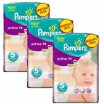 282 Couches Pampers Active Fit