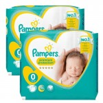 Pack 48 Couches New Baby Premium Protection