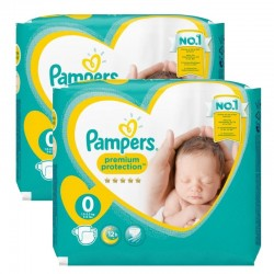 48 Couches Pampers new baby - premium protection taille 0