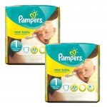 Pack de 46 Couches Pampers de New Baby Premium Protection sur auchan