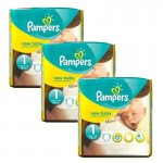 Pack 69 Couches Pampers de New Baby Premium Protection sur auchan
