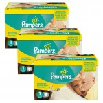Maxi Pack Jumeaux de 506 Couches de Pampers New Baby Premium Protection sur auchan