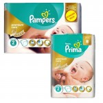 Pack 114 Couches Pampers New Baby Premium Protection sur auchan