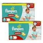 564 Couches Pampers Baby Dry Pants taille 4