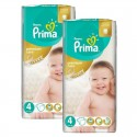60 Couches Pampers Premium Care - Prima taille 4