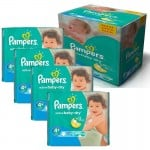 350 Couches Pampers Active Baby Dry taille 4+