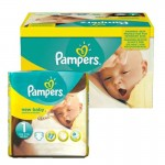 Pack 96 Couches Pampers de New Baby Premium Protection sur auchan