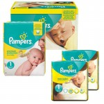 Maxi Pack 192 Couches Pampers New Baby Premium Protection sur auchan