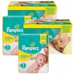 Maxi Pack de 384 Couches de Pampers New Baby Premium Protection sur auchan
