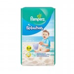 Pack de 12 Couches de Pampers Splashers sur auchan