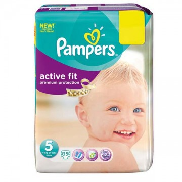 45 Couches Pampers Active Fit taille 5
