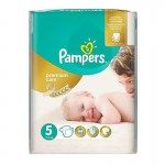 30 Couches Pampers Premium Care taille 5