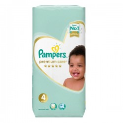 34 Couches Pampers New Baby Premium Care taille 4