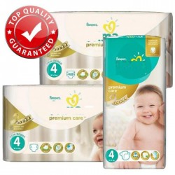 136 Couches Pampers New Baby Premium Care taille 4