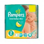 43 Couches Pampers New Baby Dry