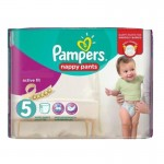 40 Couches Pampers Active Fit Pants
