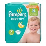 Pack 30 Couches Pampers de Baby Dry sur auchan