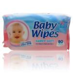 Pack de 80 Lingettes Bébés 4my Baby de peaux sensibles sur auchan