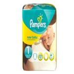 56 Couches Pampers New Baby taille 1