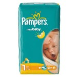 Pack de 43 Couches Pampers New Baby Dry sur auchan