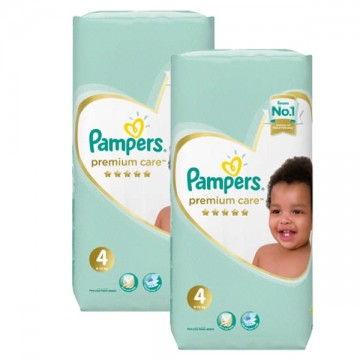 408 Couches Pampers New Baby Premium Care taille 4