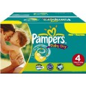 205 Couches Pampers Baby Dry taille 4+