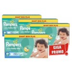 800 Couches Pampers Active Baby Dry taille 4+