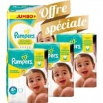 42 Couches Pampers New Baby Premium Protection taille 4+