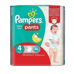 29 Couches Pampers Baby Dry Pants taille 4