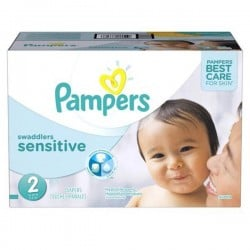240 Couches Pampers New Baby Sensitive