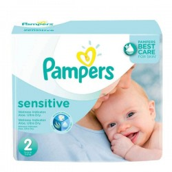 420 Couches Pampers New Baby Sensitive