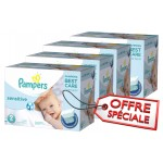 480 Couches Pampers New Baby Sensitive