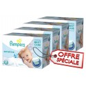 600 Couches Pampers New Baby Sensitive