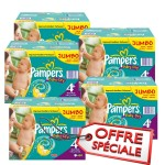 123 Couches Pampers Baby Dry taille 4+