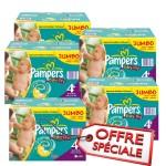 Mega pack de 123 Couches Pampers de Baby Dry sur auchan