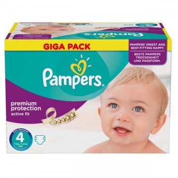 328 Couches Pampers Active Fit Premium Protection taille 4