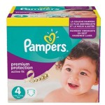 410 Couches Pampers Active Fit Premium Protection taille 4