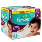 492 Couches Pampers Active Fit Premium Protection taille 4